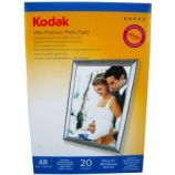 Hartie foto Kodak 4R 10 X 15 RC Ultra Premium High Glossy 270g/mp pachet 20 coli