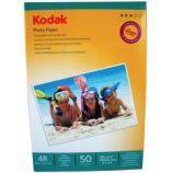 Hartie foto Kodak 4R 10x15 Glossy 180g/mp 50 coli/pachet