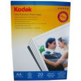 Hartie foto Kodak A4 Ultra Premium SATIN 270g/mp pachet 20 coli