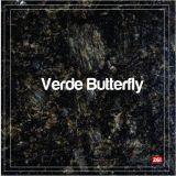 Blat Granit Verde Butterfly, decupaj dreptunghiular