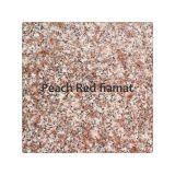 Glafuri granit fiamat Peach Red