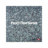 Lastra granit fiamat Peach Red