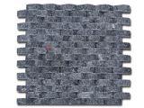 Mosaic Black Oval 30*30cm