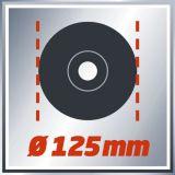 Polizor unghiular TE-AG 125/750, Einhell