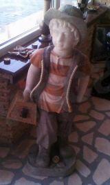 Statuie marmura baietel