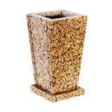 Vaza granit Aur Desert