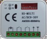 Receptor RX MULTI 300-900 MHz