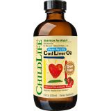 Cod Liver Oil (copii) 237 ml - Childlife Essentials®
