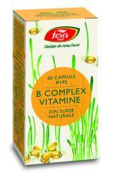 Capsule B Complex Vitamine 60cps - Fares