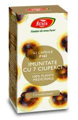 Capsule Imunitate 7 Ciuperci 63buc - Fares
