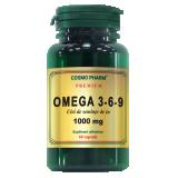 Capsule Omega 3-6-9 Ulei Seminte In 1000mg 60cps - CosmoPharm
