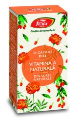 Capsule Vitamina A Naturala 30cps - Fares