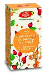 Comprimate Vitaminizant cu Macese si Catina 63cpr - Fares