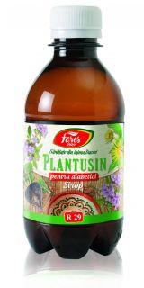 Sirop Plantusin pentru Diabetici 250ml - Fares