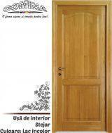 Uşă de interior Lemn Stratificat STEJAR - Culoare LAC INCOLOR