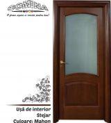 Uşă de interior Lemn Stratificat STEJAR - Culoare MAHON