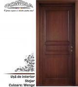 Uşă de interior Lemn Stratificat STEJAR - Culoare WENGE