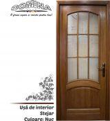 Uşă de interior Lemn Stratificat STEJAR - Culoare NUC