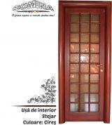 Uşă de interior Lemn Stratificat STEJAR - Culoare CIREŞ