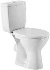 Pachet Complet Toaleta Cersanit Senator - Vas WC, Rezervor, Armatura, Capac, Set de Fixare