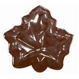 Decor Frunze Artar Ø 3.3cm - Matrita Plastic Ciocolata