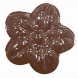 Decor Flori Ø 3.6cm - Matrita Plastic Ciocolata