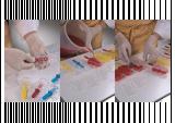 Baby Ice - Set 100 Bastonase plastic Inghetata pe bat