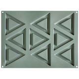 Forma Silicon Gourmand Triunghi 12x12xH1cm, 9 cavitati