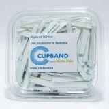 Caserola Clipband Alb 0.6 mm-11cm-500 buc