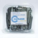Caserola Clipband Argintiu 0.6 mm-500 buc