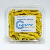 Caserola Clipband Galben 0.6 mm-500 buc