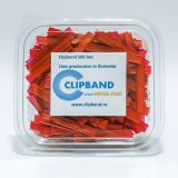 Caserola Clipband Rosu 0.6 mm-500 buc
