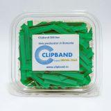 Caserola Clipband Verde 0.6 mm-500 buc