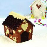 Casuta Ciocolata 3D, 14.5x13.5xh14.5cm - Kit Matrite Plastic 2 Subiecte