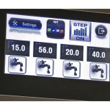 Dozator-amestecator apa, cu touch screen