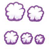 Floare Maces - 5 Decupatoare