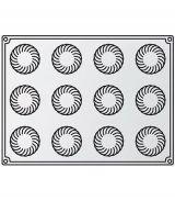 Forma Silicon Caleidon, Monoportii Ø6xh3.4cm, 12 cavitati