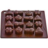 Forma Silicon Chocoice Craciun, 16 cavitati