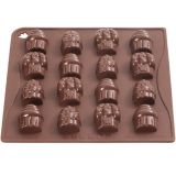 Forma Silicon Chocoice Cupcakes, 16 cavitati