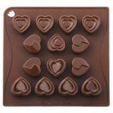 Forma Silicon Chocoice Inimioare, 14 cavitati