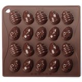 Forma Silicon Chocoice Oua decorate, 20 cavitati