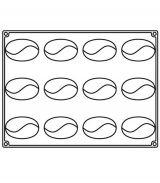 Forma Silicon Curvy, Monoportii 8.5x5.3xh 4.2cm, 12 cavitati
