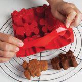 Forma Silicon Figurine Gingerman, 8 cavitati