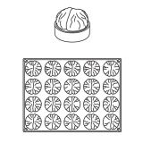 Forma Silicon Grolet Monoportii Marron, 20 cavitati