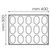Forma Silicon Miss, Monoportii 7.8x4.8xh3.3cm, 15 cavitati