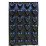 Forma Silicon Monoportii Inimioare 7.8x7.7xh3.4cm, 24 cavitati