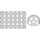 Forma Silicon Monoportii Minge Ø8xh4.5cm, 24 cavitati