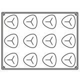 Forma Silicon Natural, Monoportii 6.9x6.8xh5.2cm, 12 cavitati