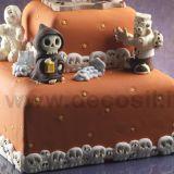 Mulaj Decosil Bordura Halloween Cranii