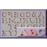 Mulaj silicon Alfabet stil Vintage
